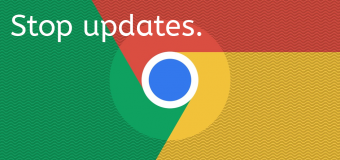 Stop Google Update Chrome Browser Easy Tutorial How To Disable Prevent 340x160