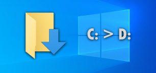 Change the Default Downloads Folder Path (Location) on Windows