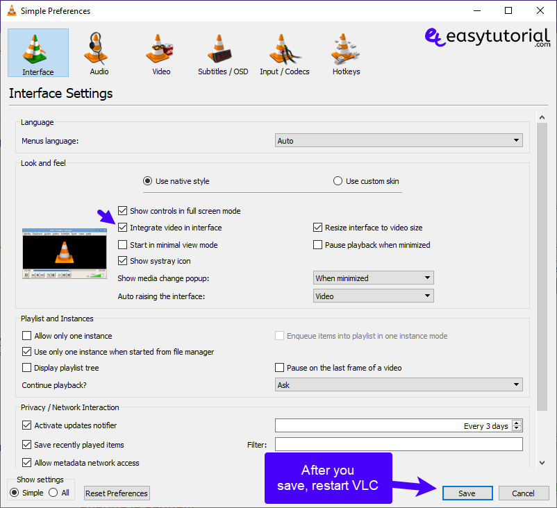 Fix Vlc Direct3d Output Video Embedded Media Solution Solved 3