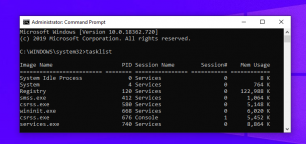 How to Generate a Text List of Running Processes on Windows 10