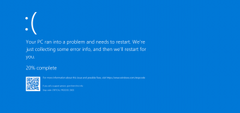 Bsod Blue Screen Of Death Error Fix Solution Problem How To Tutorial 340x160