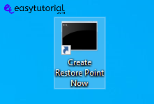 Create Restore Point Manual Windows 10 11