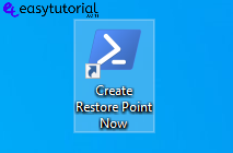 Create Restore Point Manual Windows 10 12