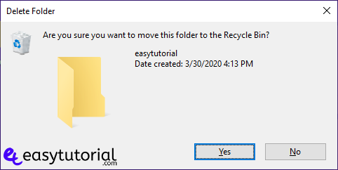 Disable Delete Remove Recycle Bin Windows 1