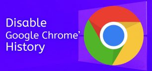How to Disable Browser History in Google Chrome
