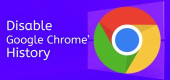 Disable Google Search Chrome History Easy Tutorial 340x160