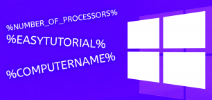 Environment Variables and Windows 10