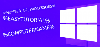 Environment Variables Env Windows 340x160