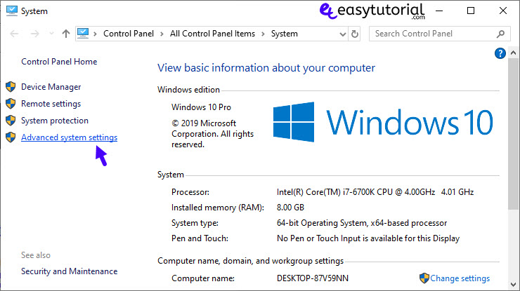 Extend Shrink System Partition Windows Size 20