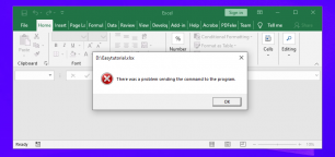 """How to Fix: """"There was a Problem Sending the Command to the Program"""""""
