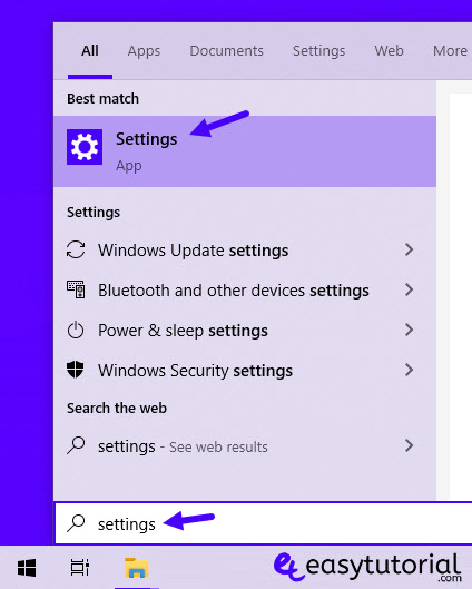 How Open Settings App Windows 10 2