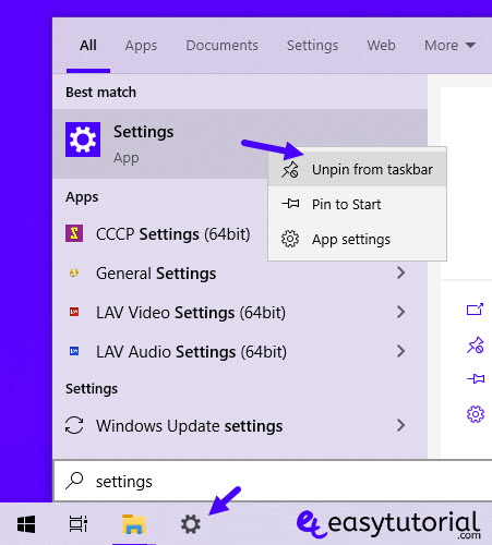 How Open Settings App Windows 10 5