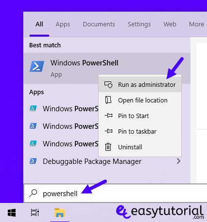 Remove Inbuilt Apps Windows 10 1 Powershell Administrator