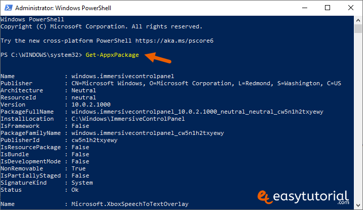Remove Inbuilt Apps Windows 10 2 Powershell