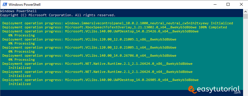 Remove Inbuilt Apps Windows 10 5 Powershell