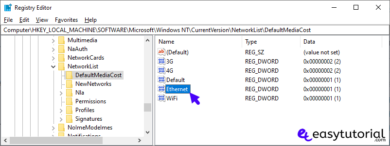 Set Ethernet Wi Fi Connection As Metered Windows 10 12