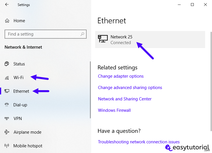 Set Ethernet Wi Fi Connection As Metered Windows 10 3 Network And Internet