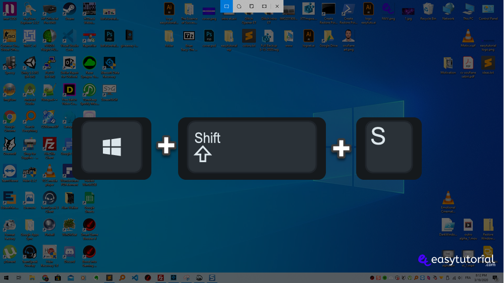 Snip And Sketch How To Open Windows Tutorial 1 Shortcut