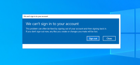 "How to Fix ""We Can't Sign in to Your Account"" on Windows"