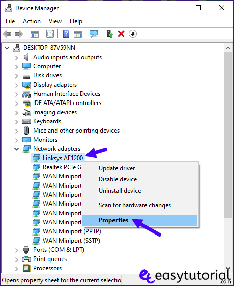 Change Edit Modify Mac Address Windows 10 2