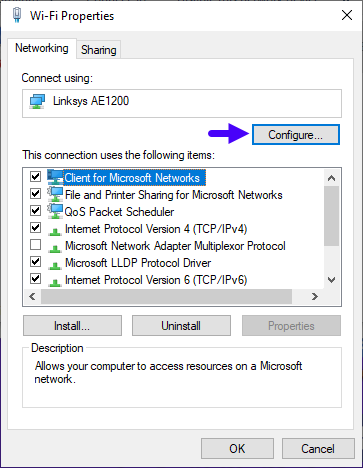 Change Edit Modify Mac Address Windows 10 5 Configure Wi Fi Properties