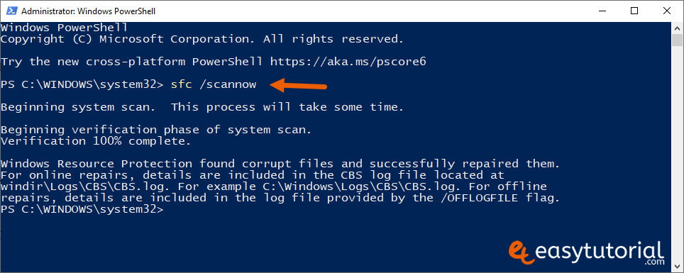 Fix Start Menu Doesnt Open Problem Solution Solved Windows 10 3 Sfc Scannow Powershell