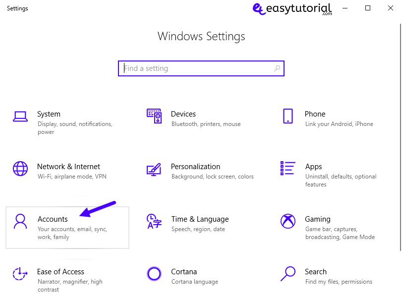 Fix Start Menu Doesnt Open Problem Solution Solved Windows 10 5 Settings Accounts