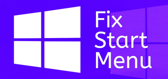 Fix Start Menu Doesnt Open Problem Solution Solved Windows 10 Easy Tutorial 340x160