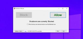Prevent Block Shutdown Windows 10 Easy Tutorial 340x160