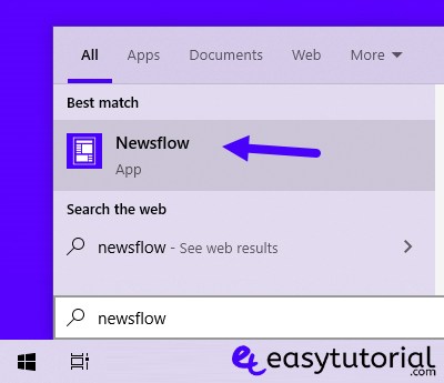 Rss Newsflow App Windows 10 Best Free Feed Wordpress Easy Tutorial 3