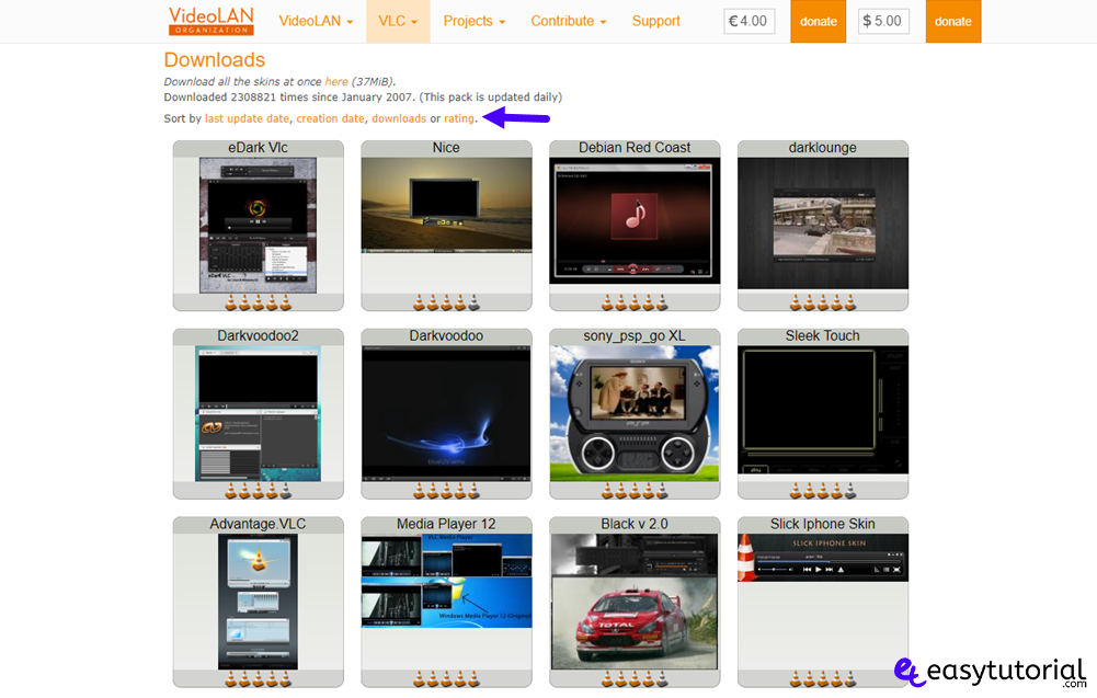 Vlc Videolan Skin Template Theme Download Change Customize Custom 1