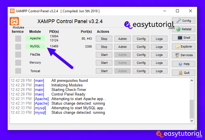 Apache Xampp Problem Port 80 443 In Use Not Starting Fixed Solved Solution 15 Solved
