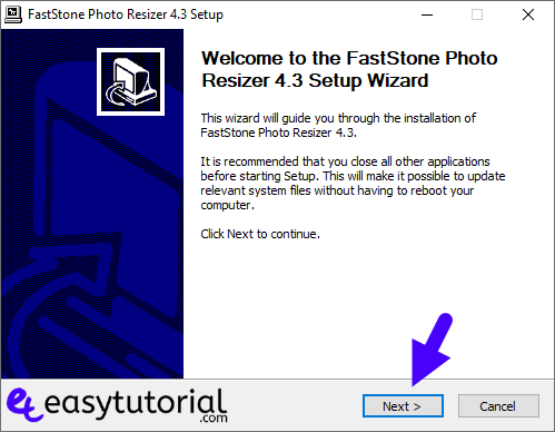 Batch Bulk Resize Photos Images Faststone Resizer Windows 10 1 Setup