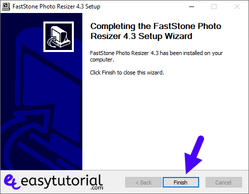 Batch Bulk Resize Photos Images Faststone Resizer Windows 10 4 Setup