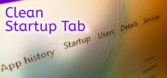 Clean Remove Entries Task Manager Startup Tab Easy Tutorial 340x160