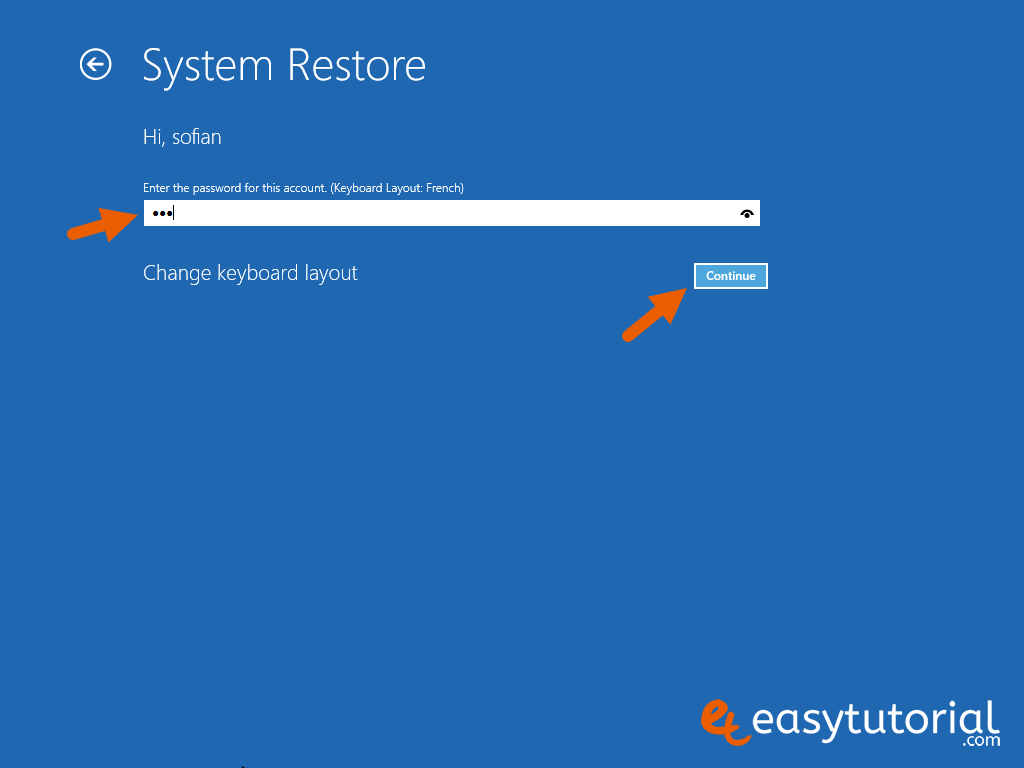 Fix Boot Startup Mbr Windows 10 Steps 13 System Restore Account Password