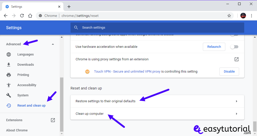 Fix Google Chrome Optimize Solution Solved Optimized Fast 7 Restore Settings Clean Up Computer