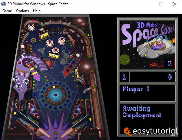 Install Pinball Cadet Space Windows 10 Free Game 6 Game Play