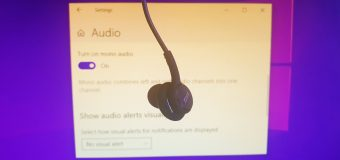Mono Audio Windows 10 Stereo Convert Transform Easy Tutorial Ease Of Access 340x160