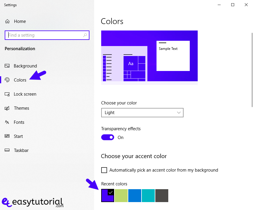 Remove Background Sign In Screen Windows 10 Color 6