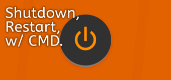 Shutdown Restart Cmd Command Prompt Windows Run Easy Tutorial 340x160