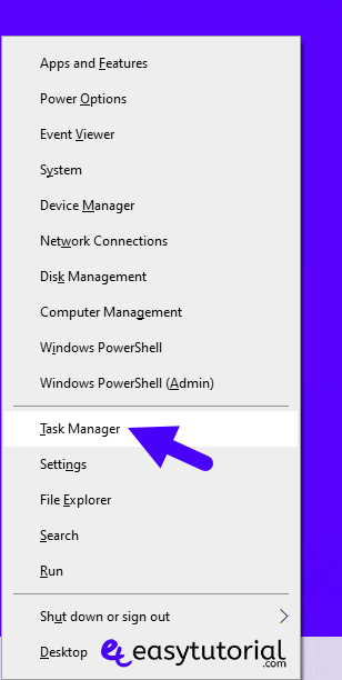 Ways Methods Open Task Manager Taskmgr Windows 10 3 Start Right Click Win X
