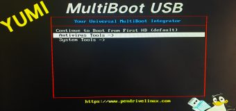 Yumi Usb Multiboot Easy Tutorial Free Bootable Drive Disk Iso Image System Linux Ubuntu Antivirus Tools 340x160
