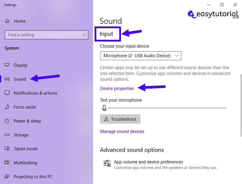 Boost Microphone Volume Sound Increase Low Fixed Windows 10 2 Input Device Properties Settings