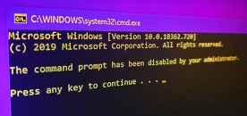How to Disable Command Prompt on Windows 10