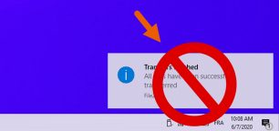 How to Disable All Toast Notifications on Windows 10