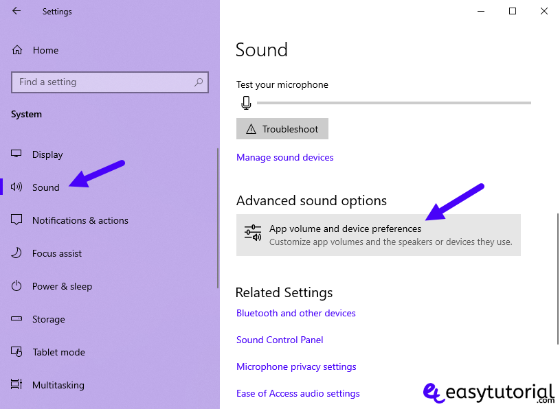 Fix Repair No Sound Google Chrome Windows 10 2 App Volume Device Preferences