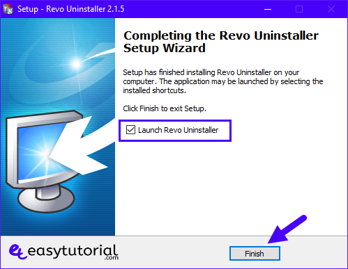 Force Uninstall Remove Delete Programs Software Windows 10 Revo Uninstaller 5 Launch
