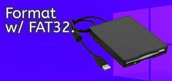 Format Large Usb Flash Drive External Hard Fat32 Windows 10 Easy Tutorial 340x160
