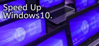 Speed Up Windows 10 Pc Performance Improve Increase Computer Free Tips Easy Tutorial 340x160